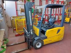 Jungheinrich EFG 220 forklift truck - Lot 5 (Auction 6357)