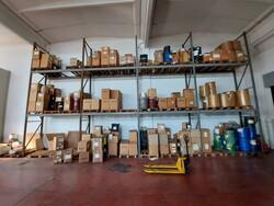 Scaffalature e attrezzatura da magazzino - Lotto 3 (Asta 6358)