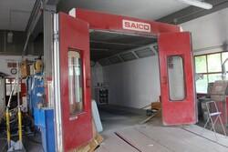Forno per verniciatura auto Saico - Lotto 1 (Asta 6377)