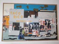 Lithograph by Ugo Nespolo - Lot 12 (Auction 6419)
