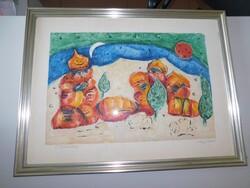 Artwork by Louis Jaquet - Lot 13 (Auction 6419)