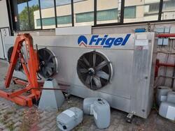 Impianti refrigeranti Frigel e compressore Atlas Copco