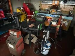 Macchinari e attrezzature da officina meccanica per macchine agricole e arredi da ufficio - Lotto 5 (Asta 6473)