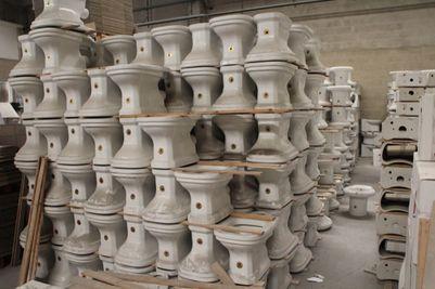 Ceramica Gravena Sant Eusanio.Asta Magazzino Sanitari E Marchio Gravena