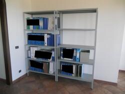 Metal shelving unit - Lot 5 (Auction 77624)