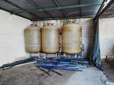 Fiberglass silos and firefighting pumps - Auction 783