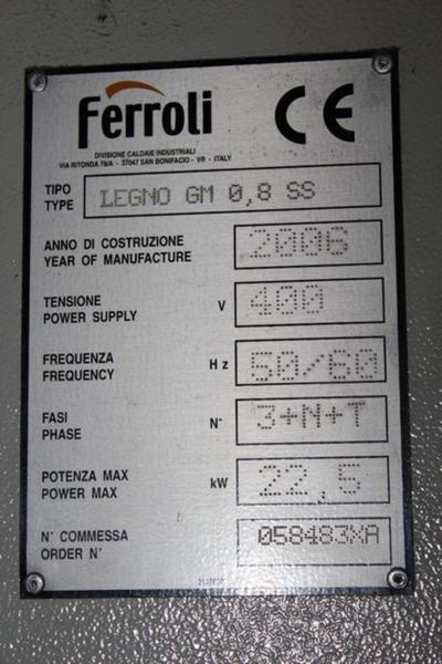 Lotto caldaia ferroli for Caldaia riello residence in blocco