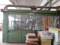 Camera di verniciatura - Lotto 33 (Asta 965)