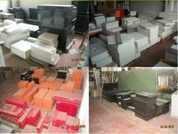 Magazzino mobili lavorati e semi-lavorati - Lotto 1 (Asta 9651)