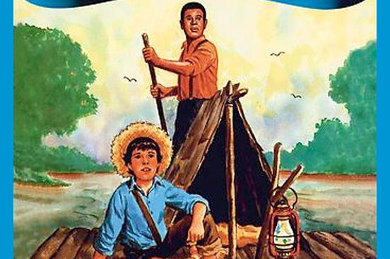 In Huckleberry Finn, name three situations that show Jim acting as a father figure to Huck.?