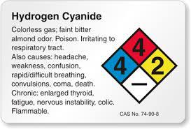 Can hydrogen cyanide be purchased in US?