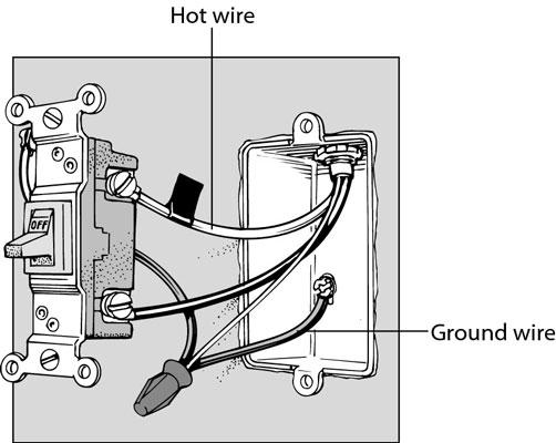 How to replace a light switch by Sam De Leon Infogram