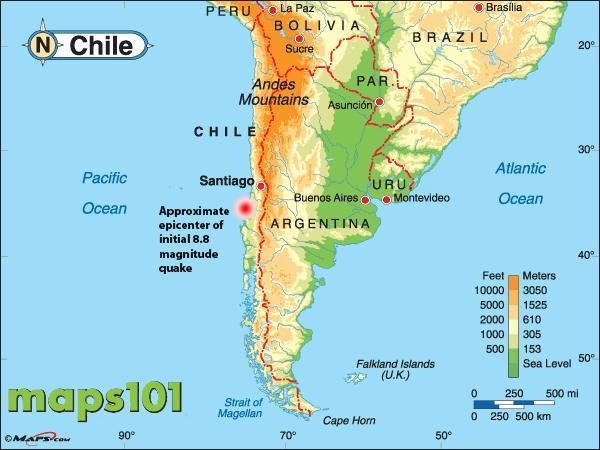 1960 Chile Earthquake Map.Hairy Animal Cruises The Panama Canal Chile Earthquake Capital Of