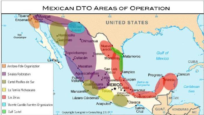 Mexican Drug War By Sloanben Infogram