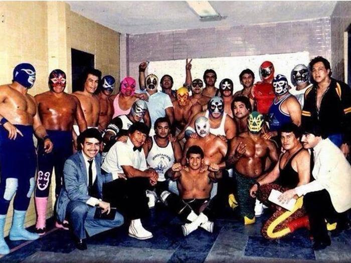 Grandes Luchadores Mexicanos By Vanebatun Infogram
