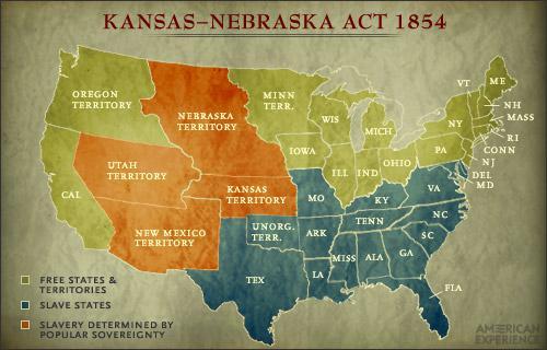 Bleeding Kansas By Deannarsmith Infogram - Bleeding us map