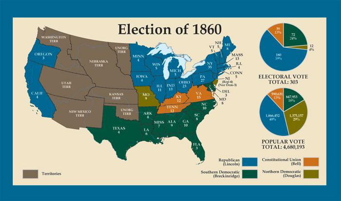 the point of no return the election of 1860 by jimmyqing infogram
