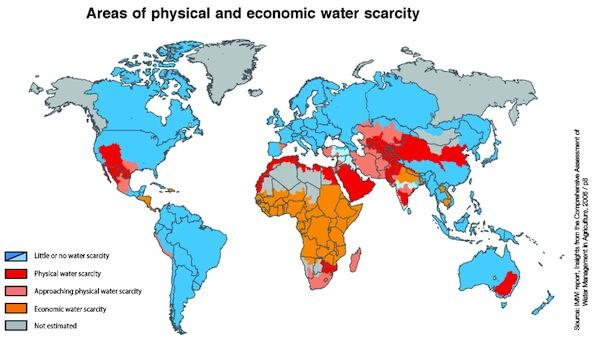 The middle east water crisis by mnochisaki Infogram