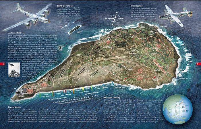 Iwo Jima Island Map | Sutori Iwo Jima Map on