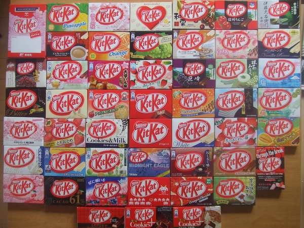 Image result for all kitkat flavors