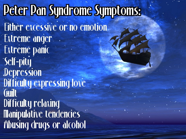 The peter pan syndrome
