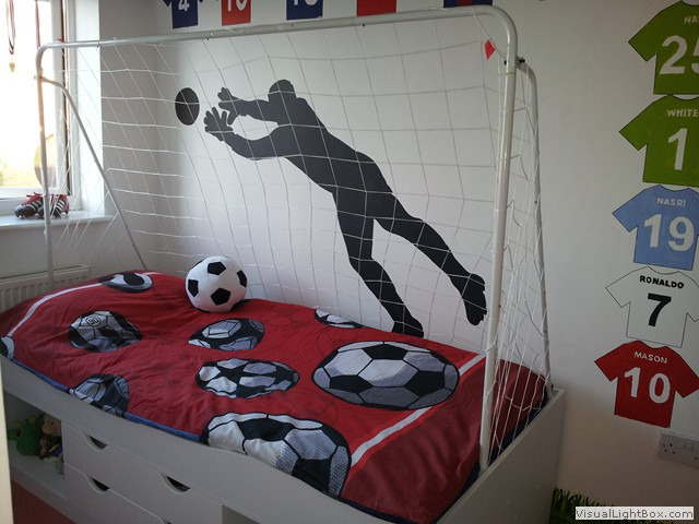 Fine Boys Football Bedroom Ideas And More On Cool Bed By - Boys football bedroom ideas