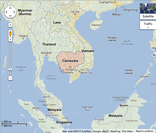 Cambodia Genocide By Patterson Infogram - Where is cambodia
