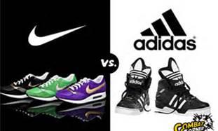 Nike vs adidas statistics