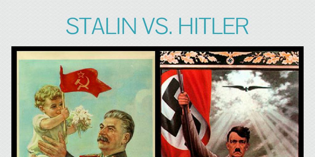 Stalin vs. hitler by nickypoo - Infogram