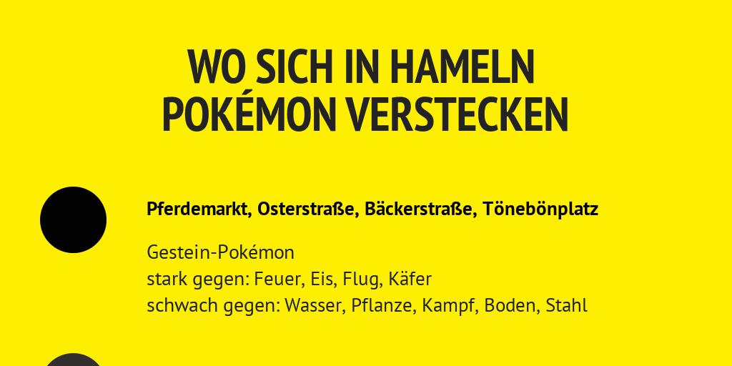 Pokemon In Hameln By Dewezet Infogram