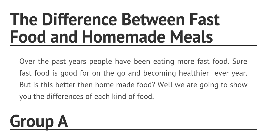 eating out vs. cooking at home essay Toefl ibt independent writing sample essay 1 there are few people who eat out all the time and eating at home has many points at home, when cooking for.