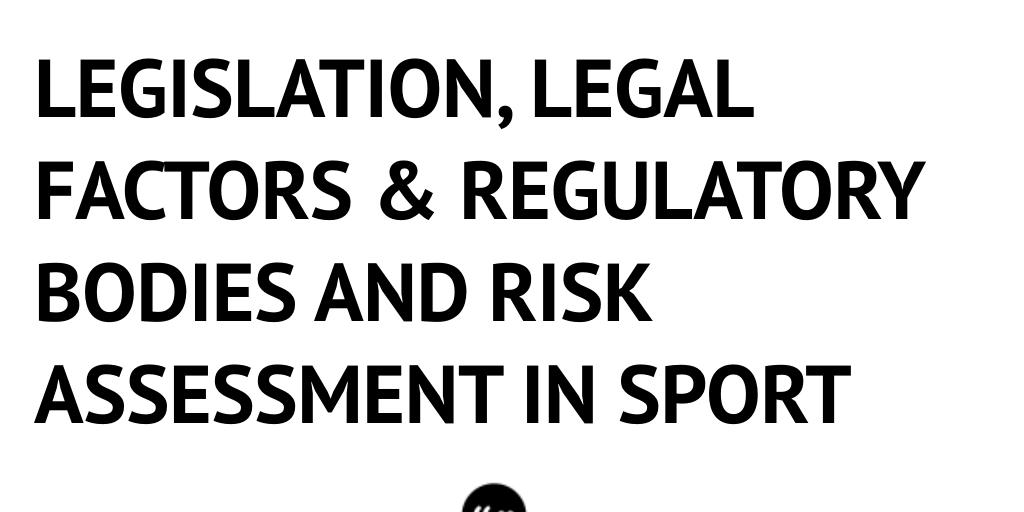 legal factors in sport