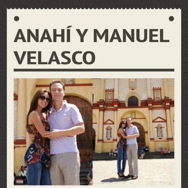 Manuel Velasco Height Anahí y Manuel Velasco