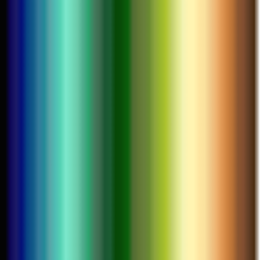 terrain height colour gradient