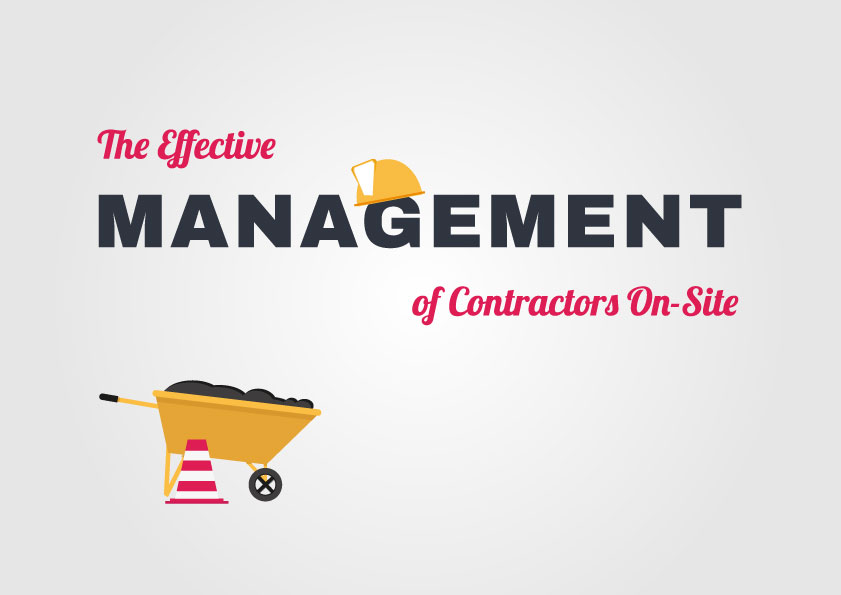 the effective management of contractors on-site