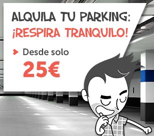 Ofertas parkings en alquiler