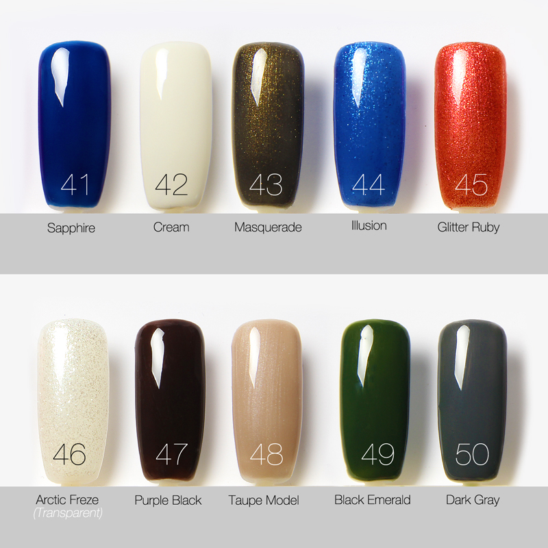 Top Ten Organic Nail Polish - Creative Touch
