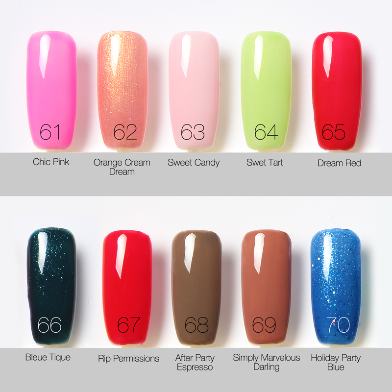 GENUINE SAPPHIRE FOCALLURE UV/LED NAIL GEL POLISH COLLECTION-2 [22 ...