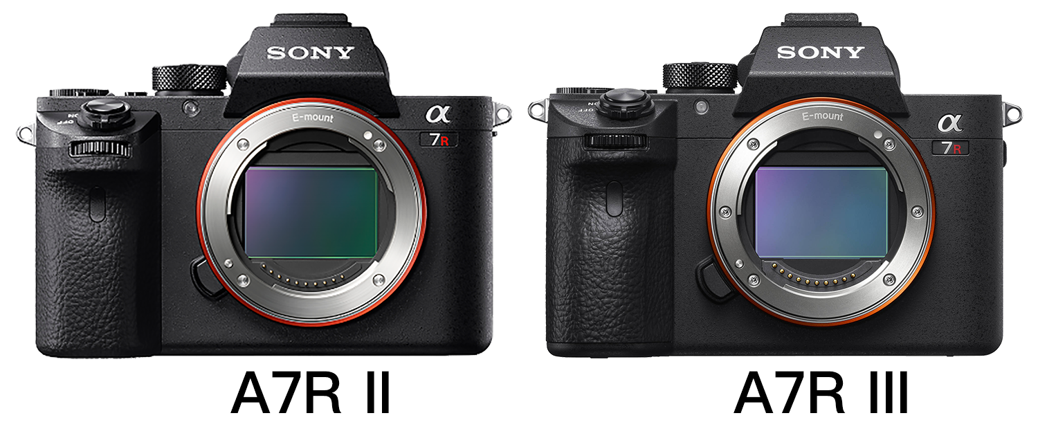The Sony A7R III vs the Sony A7R II, review