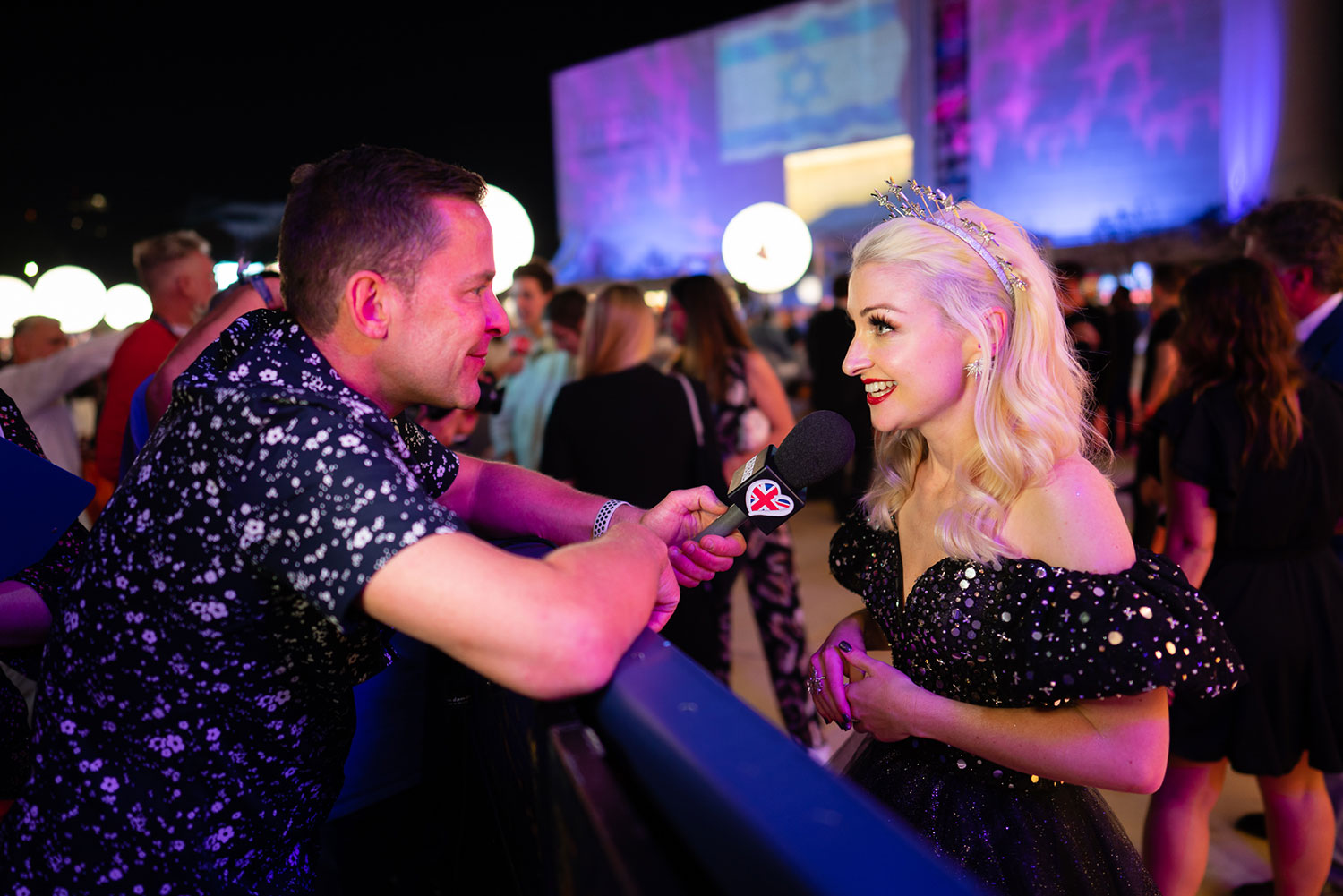 CUSTOMER CASE STUDY: Tom O'Donoghue Travels to Tel Aviv to shoot both the performances and backstage scenes at Eurovision 2019