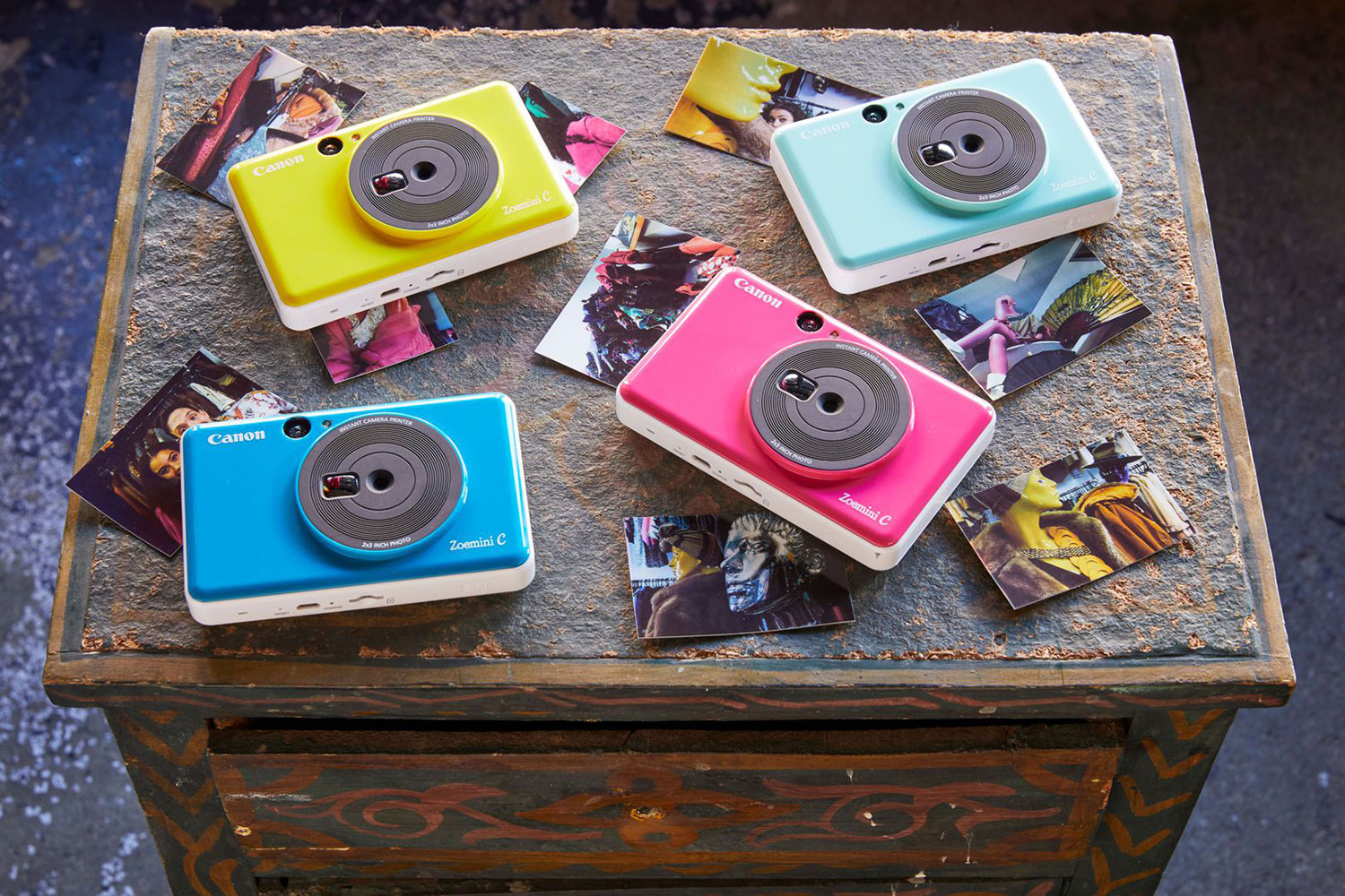 NOW IN STOCK: Canon Zoemini Instant Cameras Now Available for Hire
