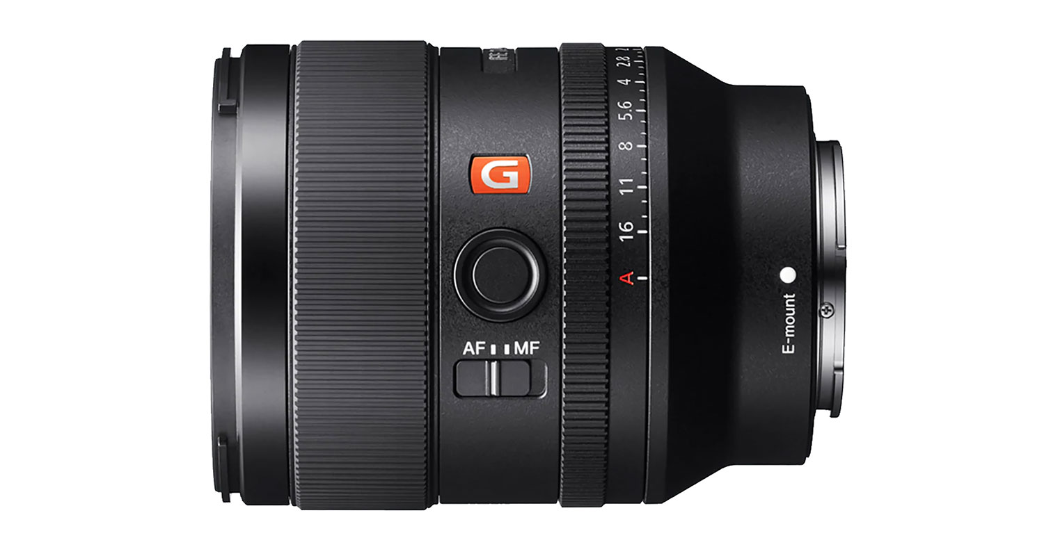 NEWS: Sony Launches FE 35mm F1.4 GM