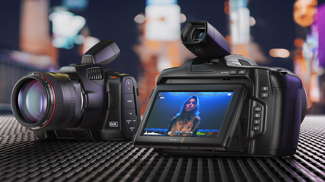 JUST ANNOUNCED: Blackmagic Pocket Cinema Camera 6K Pro