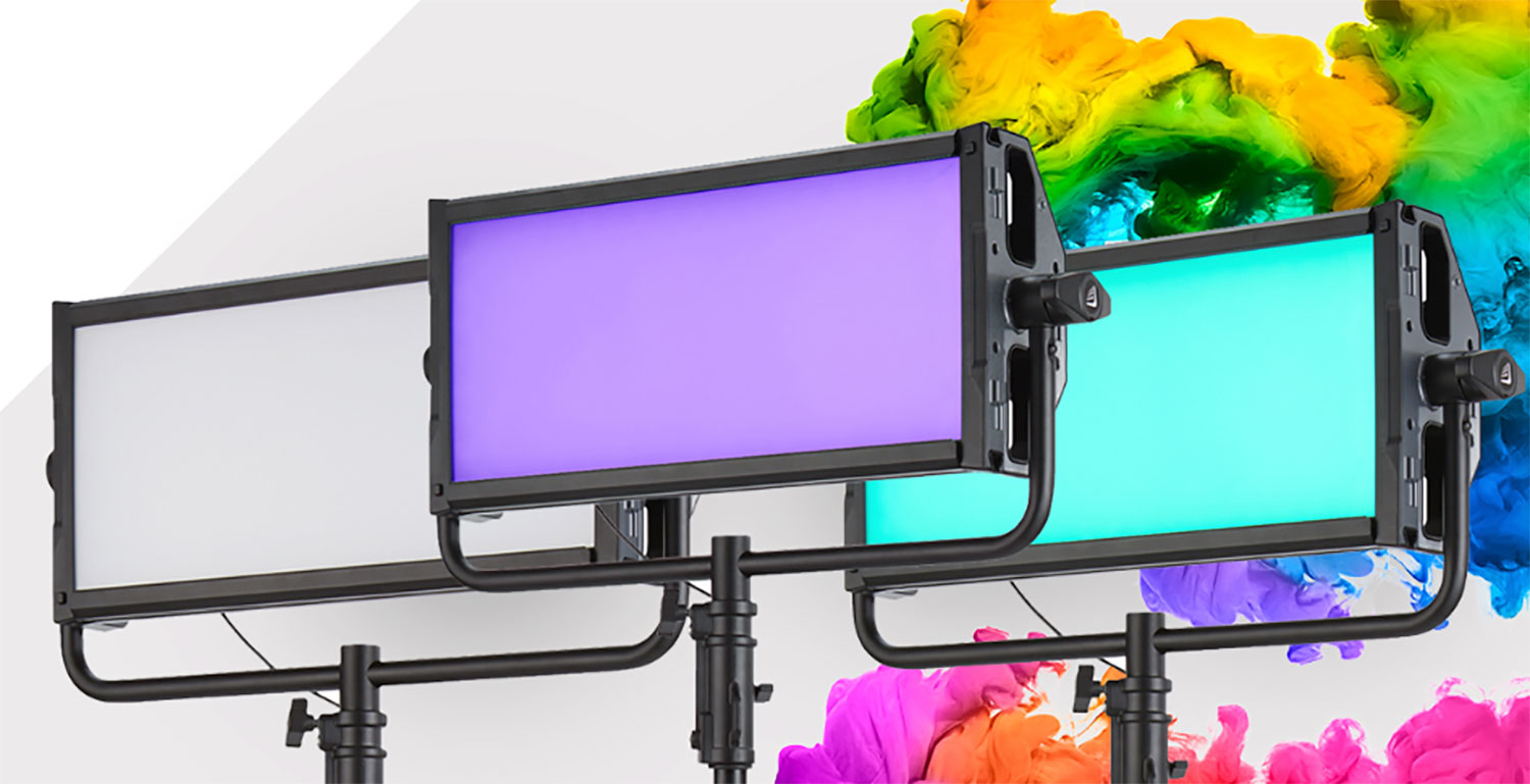 NOW IN STOCK: The Litepanels Gemini 2×1 LED Soft Panel