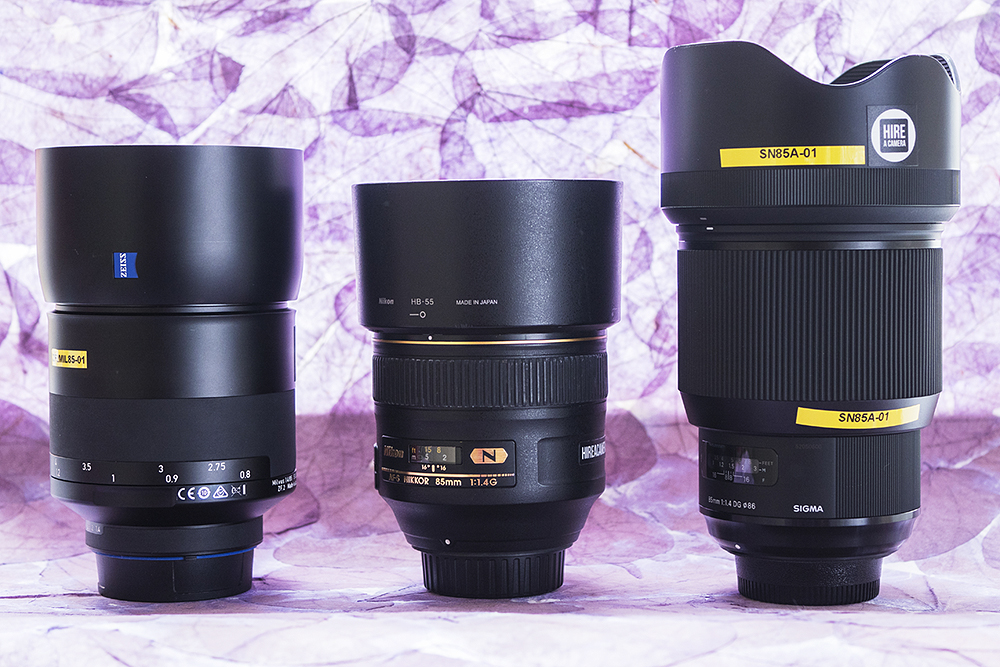 85mm lenses head-to-head