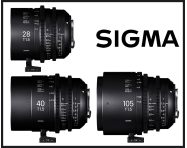 JUST ANNOUNCED: Sigma reveal 3 new CINE lenses in the FF High Speed Prime Line