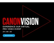 NEWS: Canon Announces Canon Vision, a Virtual Pro AV Event