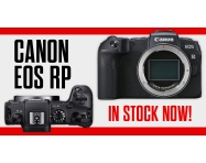 NOW IN STOCK: The Canon EOS RP full-frame mirrorless camera