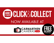 NEWS: Yet another Click & Collect Point Added, this time at Carmarthen Cameras