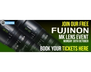 EVENT: FREE HANDS-ON EXPERIENCE WITH THE FUJINON MK LENSES